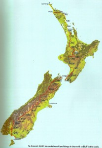 Te Araroa Map progress 240913