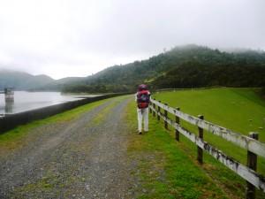 Wairoa Dam wall